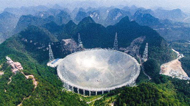 China estrena el radiotelescopio más grande del mundo
