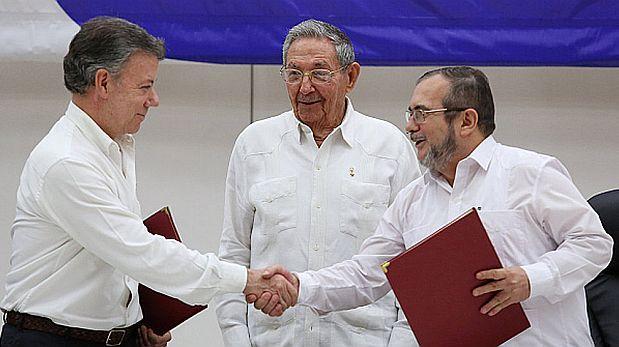 Colombia y las FARC firmarán histórico acuerdo paz tras 52 años de conflicto. (AFP)