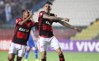 Paolo Guerrero inició remontada del Flamengo con este golazo