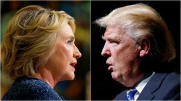 Es hora de la pelea: Clinton y Trump se enfrentan hoy en debate