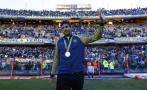 Del Potro fue homenajeado por Boca Juniors en La Bombonera