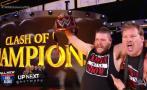 WWE Clash of Champions: Owens venció a Rollins con ayuda