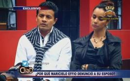 Maricielo Effio se disculpó con esposo tras denunciarlo [VIDEO]