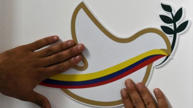 Colombia y las FARC firman la paz en Cartagena. (AFP)