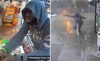 Ladrón escapa al ver que su víctima estaba armado [VIDEO]
