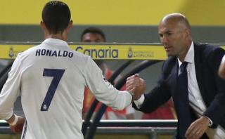"""Zidane sobre reacción de Cristiano Ronaldo: """"Yo no soy tonto"""""""