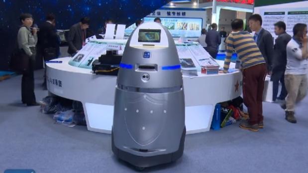 China: robots empiezan a patrullar en aeropuertos locales