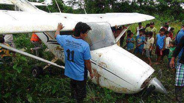 Loreto: caída de avioneta en fundo de Yurimaguas dejó 3 heridos