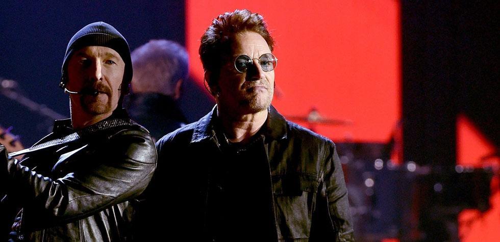 U2 se pronunció contra Trump durante concierto