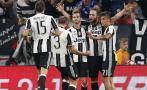 Juventus goleó 4-0 al Dinamo Zagreb por Champions League