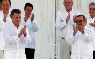 Colombia-FARC: Las frases que marcaron la histórica ceremonia