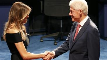 Clinton vs. Trump: Las mejores fotos del debate presidencial