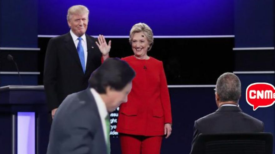 Clinton mantiene a Trump a la defensiva tras debate