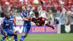 Paolo Guerrero y su celebración con furia tras vuelta al gol - Noticias de julio angulo
