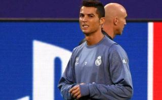 Cristiano Ronaldo sigue molesto y lo demostró en las prácticas