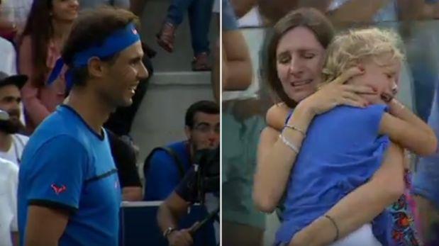Rafael Nadal vivió la interrupción más inesperada de su carrera