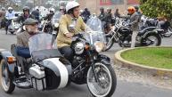 Así se vivió el paseo de motos clásicas en Lima [FOTOS]