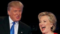 Debate Clinton-Trump batió récord con 80,9 mlls de espectadores