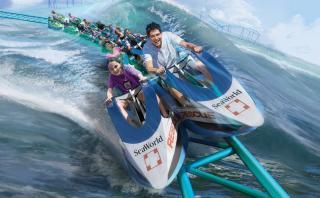 Sea World anuncia su nueva montaña rusa de corte educativo