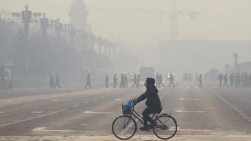 Nueve de cada diez personas respiran aire contaminado