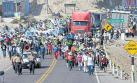 Arequipa: Islay quedó paralizada en el primer día de protestas