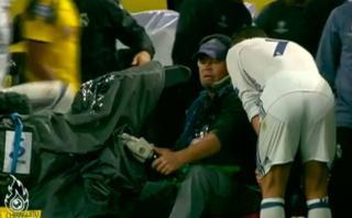 Cristiano quiso ver repetición de su gol anulado en una cámara