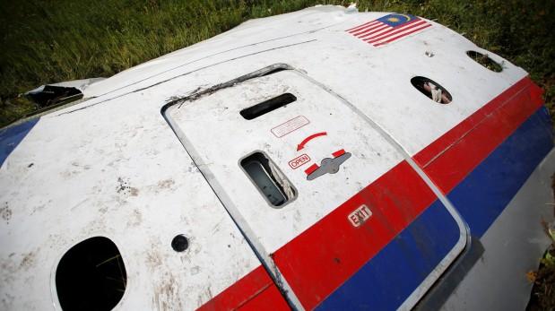 Parte del vuelo MH17. (Reuters)