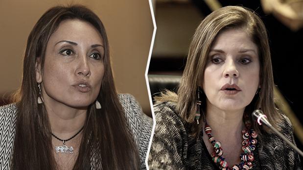 Mercedes Aráoz y Patricia Donayre protagonizan polémica