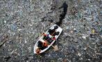 El Mediterráneo acumula 1.455 toneladas de residuos plásticos