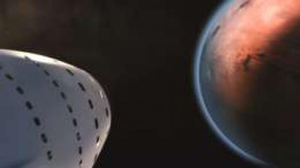 Así es la nave con la que Space X quiere que viajemos a Marte
