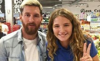 Lionel Messi en un supermercado: la foto que recorre el mundo