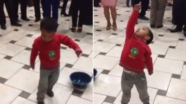 Niño baila con pasión la tunantada y es éxito viral en Facebook