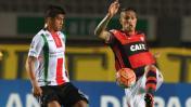 Flamengo cayó 2-1 ante Palestino y quedó fuera de Sudamericana