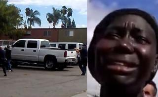 El dolor de la hermana de afroamericano abatido por la policía