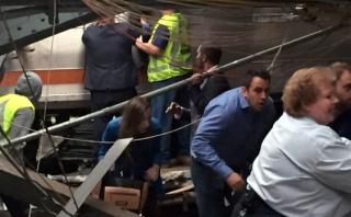 EE.UU.: Accidente ferroviario remece Nueva Jersey [VIDEOS]