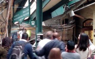 """Nueva Jersey: """"Tren voló hacia final de la vía"""" [TESTIMONIOS]"""