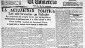 1916: El temblor de ayer