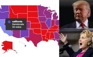 Clinton o Trump: La intención de voto por estado [INTERACTIVO]