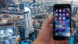 Tiró un iPhone 7 Plus desde el edificio más alto del mundo
