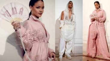 Rihanna presentó su colección para Puma en Paris Fashion Week