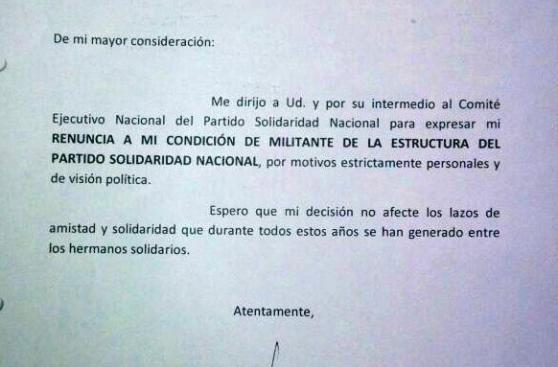 Castañeda: Solidaridad Nacional perdió un tercio de alcaldes