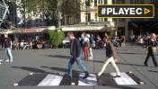 El paso de Abbey Road de los Beatles se instaló en París