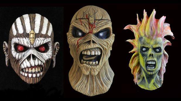 Iron Maiden comercializa máscaras de su mascota Eddie