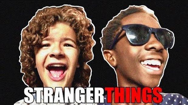 """Niños de """"Stranger Things"""" también conocen la música de los 80"""