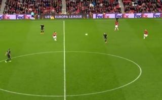 Zlatan Ibrahimovic y el reclamo a Wayne Rooney en el campo