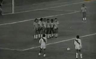 Para nunca olvidar: a 41 años del golazo de Cubillas a Brasil