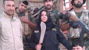 """La temida mujer que """"cocina"""" las cabezas de terroristas del EI"""