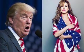 Alicia Machado responde a Trump tras mención a video sexual