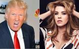 Trump pide a la gente ver 'video sexual' de Alicia Machado