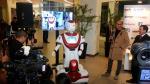 RobotMan, el primer robot vigilante del país - Noticias de robots